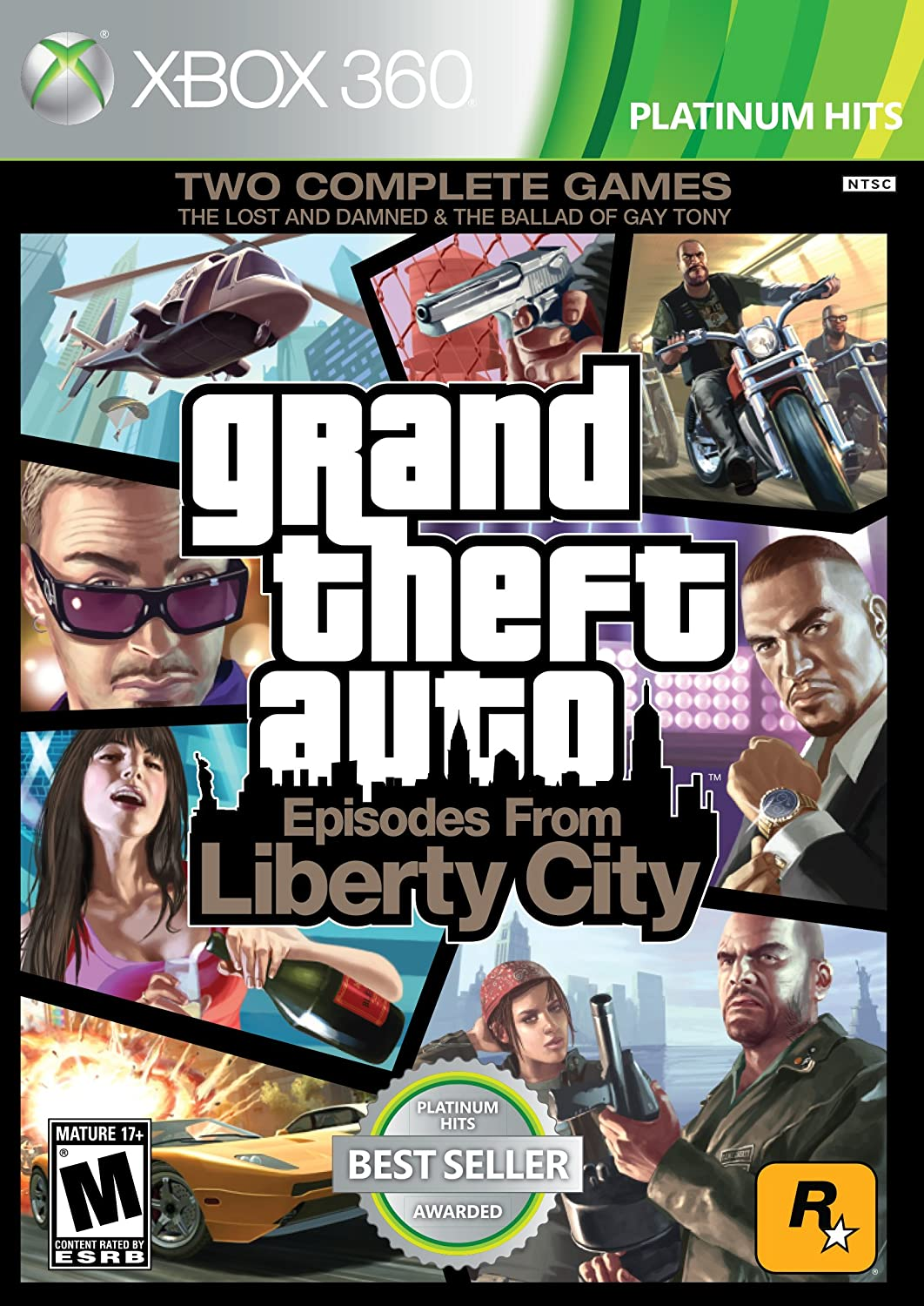 Grand Theft Auto: Episodes City El Paso Mall from Tucson Mall Liberty