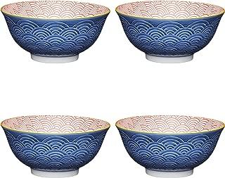 Bol De Sauce 3 Pouces Vaisselle en c/éramique Hot Pot Sauce Bol Bol Japonais Assaisonnement Vinaigre Plat Personnalit/é Trois Pieds Stripes Bol