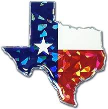 Elektroplate Flag Decal Texas TX-TXS-FLAG-RDD