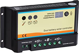 dual solar charge controller