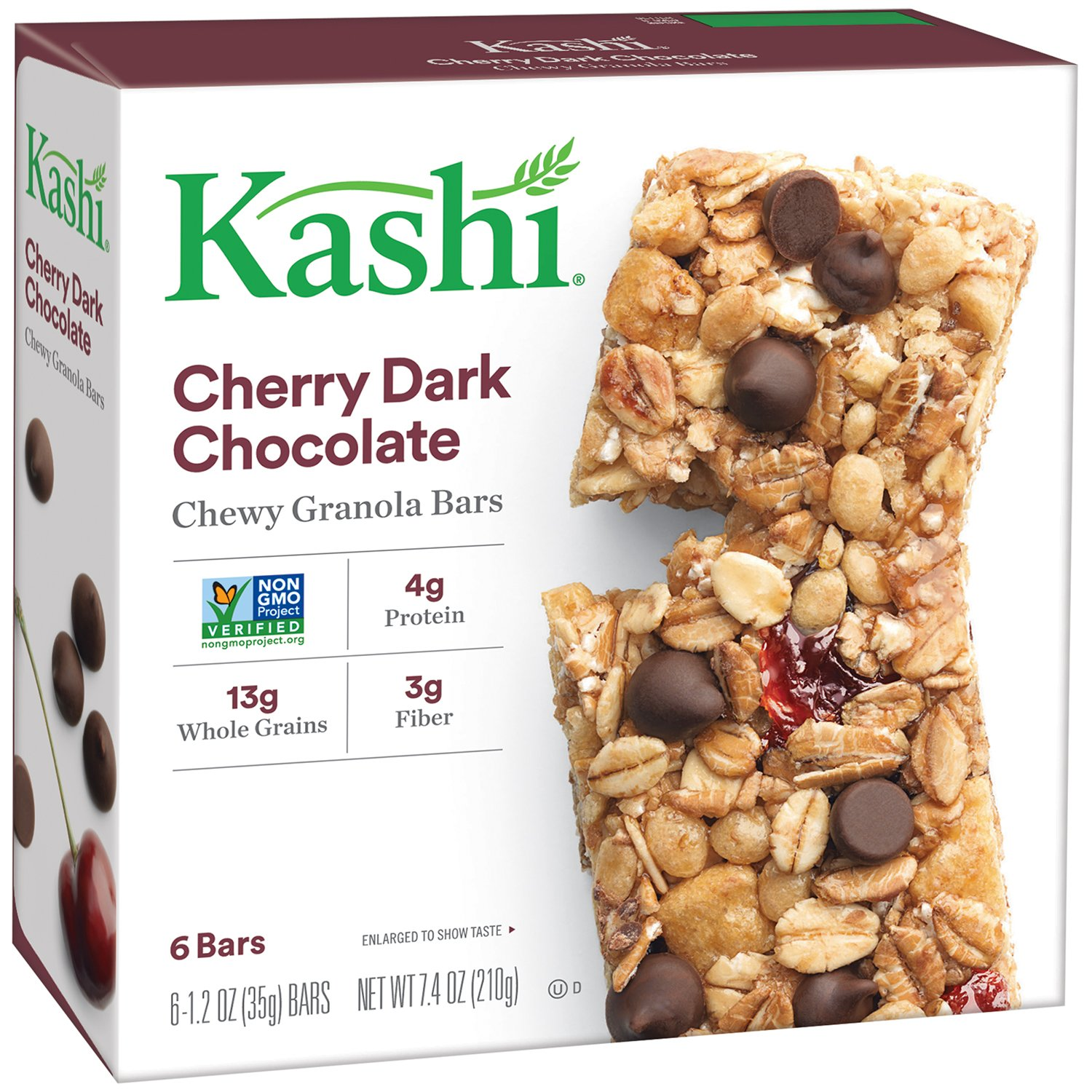 Kashi TLC ! Super beauty product restock quality top! Chewy Granola Bar Dark Cherry Bo Chocolate SEAL limited product 7.4-Ounce