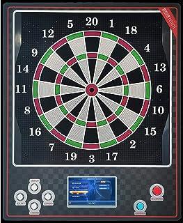 Elektronisk darttavla, Mini elektronisk dartspelmaskin, Darttavla Soft Tip Dartboard Set, 7 tum LCD-skärm, 15,5 tum Målomr...