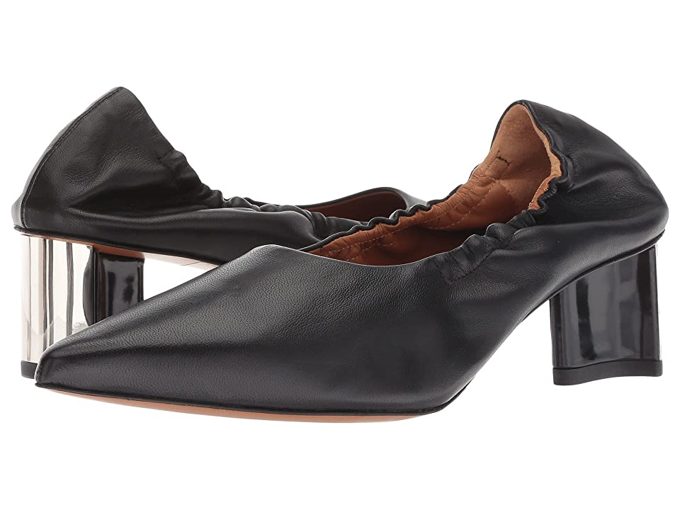 Clergerie Solal1 (Black Nappa Leather) High Heels