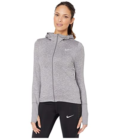 Nike Element Hoodie Full Zip (Gunsmoke/Atmosphere Grey/Reflective Silver) Women