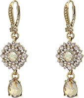 Marchesa - Small Double Drop Earrings
