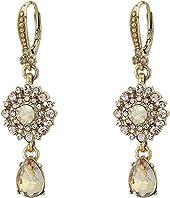 Marchesa - Small Double Drop Earrings