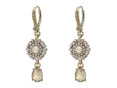 Marchesa Small Double Drop Earrings