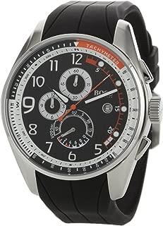 Hugo Boss Men's 1512366 HB229 Chronograph Black Dial Black Rubber Watch