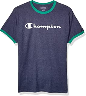 Champion Men's Classic Jersey Graphic Ringer T-Shirt