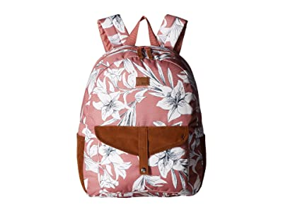 Roxy Carribean Backpack (Withered Rose Lily House) Backpack Bags