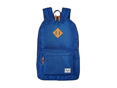 Herschel Supply Co. Heritage (Monaco Blue Crosshatch) Backpack Bags