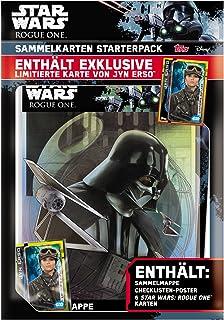 Topps - Tarjeta de Comercio - Star Wars Rogue uno - Album Starter