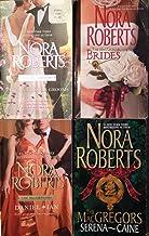 Nora Roberts the Macgregor Grooms, Brides, Daniel-Ian and Serena-Caine 4 Book Set