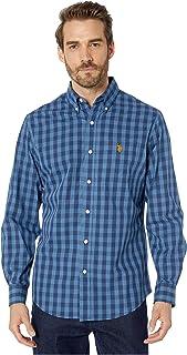 U.S. POLO ASSN - Camicia da uomo a maniche lunghe