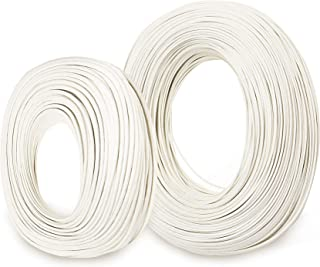 Bryne Mica High Temperature Wire -60~450 Degree C,Stranded Nickel plated copper wire,Insulation by Mica and Fiberglass,used in harsh environments (AWG14 10Ft)