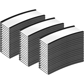 0.5 x 3 SmartSign Pack of 25 Magnetic C Channel Label Holders