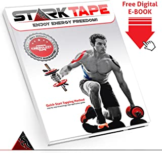 How to Apply StarkTape Kinesiology Tape. Best Kinesiology Taping techniques: Step-by-step guidance for taping knees, elbows, shoulders, ankles, shins, wrists, hamstrings, back, neck & arms.
