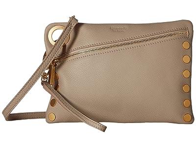 Hammitt Nash Large (Sandstone Pebble/Brushed Gold) Handbags