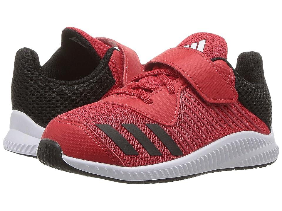 adidas Kids FortaRun EL I (Toddler) (Scarlet/Core Black/Footwear White) Boys Shoes