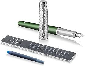 Duke 2009 Charlie Chaplin Pluma estilogr/áfica azul oscuro plum/ín fino dise/ño cl/ásico moderno colecci/ón Heavy Pen con bolsa