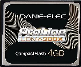Dane-Elec High Speed 300X 4 GB USB 2.0 Compact Flash Card UDMA DA-CF30-04G-C