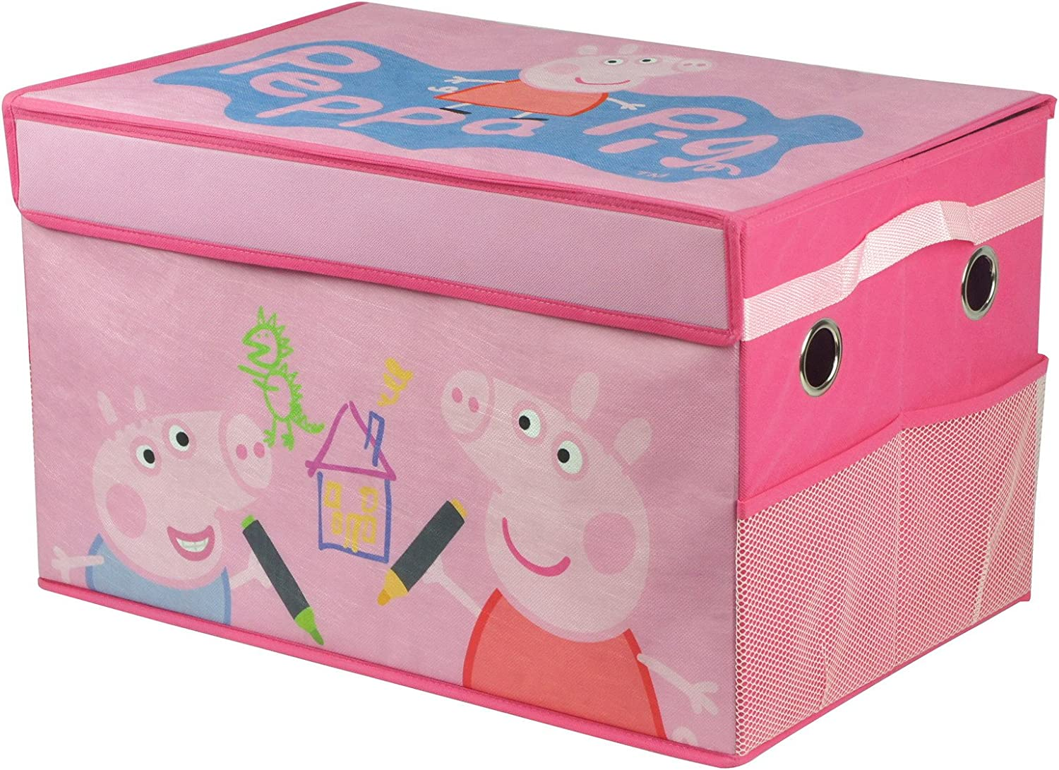 Peppa Pig Peppa Pig Foldable Canvas Toy Box