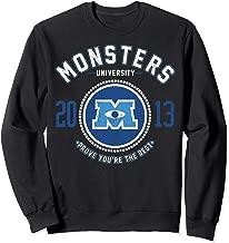 Disney Pixar Monsters University Logo Graphic Sweatshirt