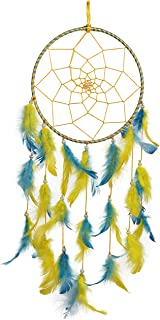 ILU® Dream Catchers, Wall Hangings, Home Decor, Handmade Dreamcatcher for Bedroom, Balcony, Garden, Party, Cafe, Small Rin...
