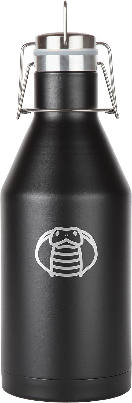 Snake Memphis Mall Stainless Steel Beer Growler. 64 Seal Oz Proof Leak Vacuum Discount is also underway