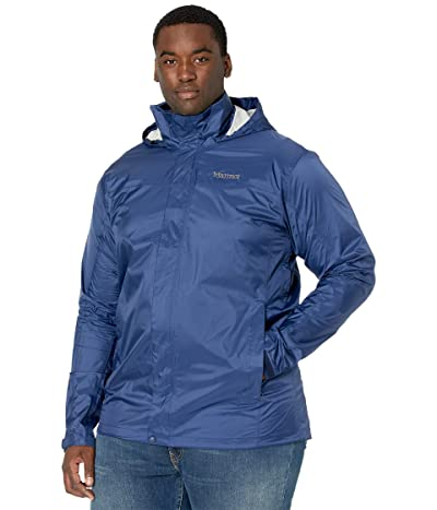 Marmot Big Tall PreCip(c) Eco Jacket (Arctic Navy) Men