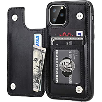0106 Men Wallet Credit Card Holder 100$ Money Slim Pocket Bifold PU Leather