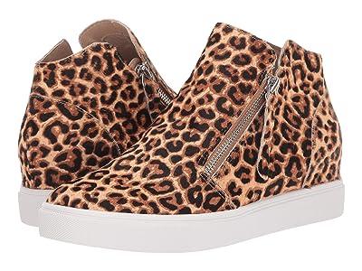 Steve Madden Caliber L Wedge Sneaker (Leopard) Women