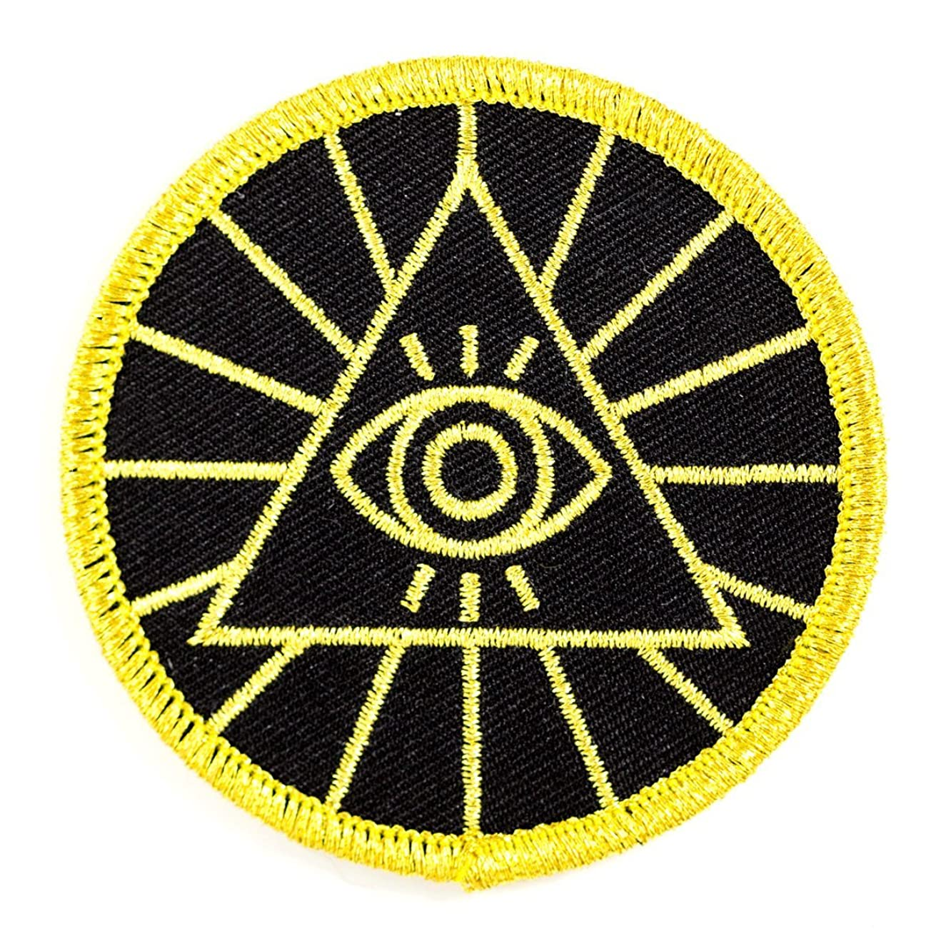 These Are Things Illuminati Embroidered Iron On or Sew On Patch
