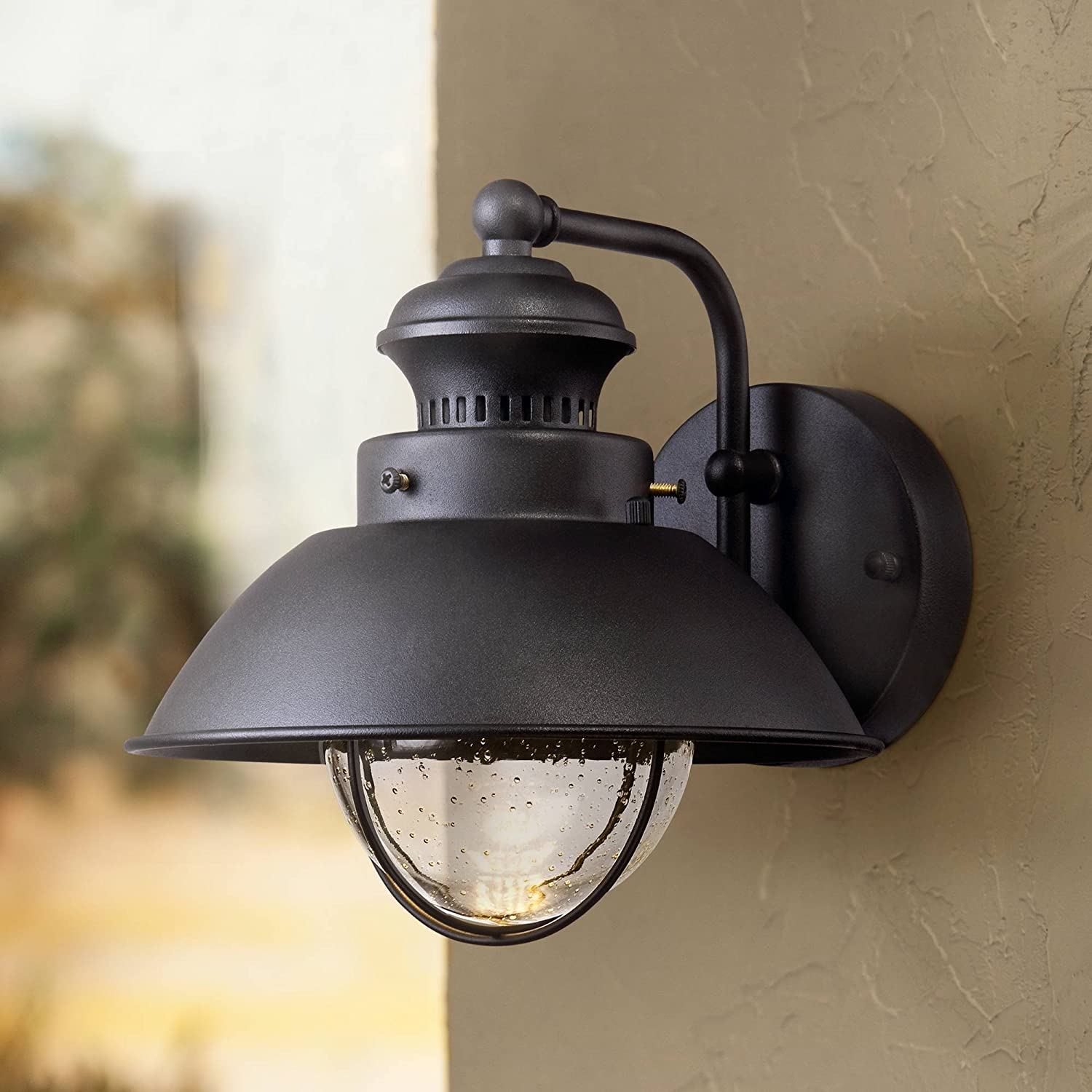 Fordham Farmhouse Selling rankings Rustic Industrial Outdoor Light Wall Fixture SEAL limited product L