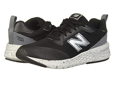 New Balance Kids 515 Sport (Little Kid/Big Kid) (Black/Lead) Boys Shoes