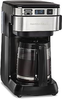 قهوه ساز قابل برنامه ریزی Hamilton Beach 46310 ، 12 فنجان ، مشکی