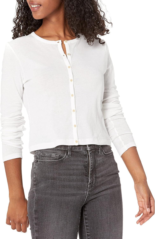 Vince Women's Long Sleeve Cropped Cardigan