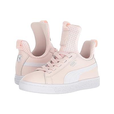 Puma Kids Basket Fierce EP AC (Little Kid) (Pearl/Puma White) Girls Shoes