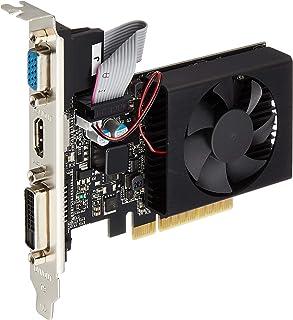 玄人志向 NVIDIA GeForce GT710 搭載 グラフィックボード 2GB Low profile対応 1スロット空冷ファンモデル GF-GT710-E2GB/LP/P