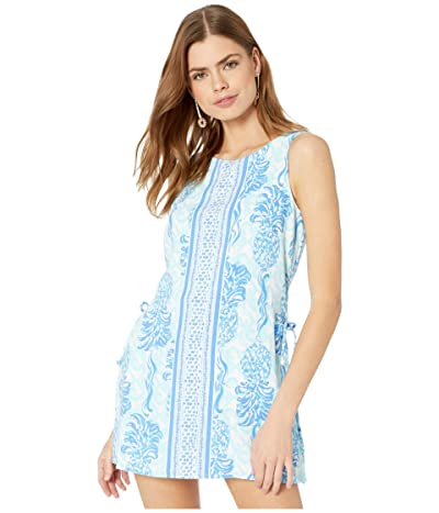 Lilly Pulitzer Donna Romper (Bennet Blue Out Of The Blue Engineered) Women