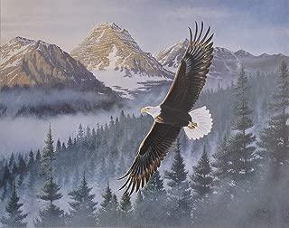 Eagle- William J Goebel (22x28) Unframed Art Print