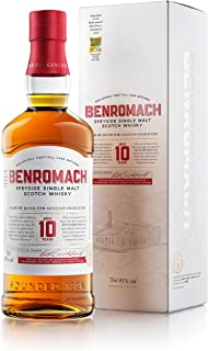 Benromach Whisky 10 Years in Geschenkverpackung Speyside Single Malt Scotch Whisky 1 x 0.7 l