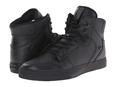 Supra Vaider (Black/Red/Black) Skate Shoes