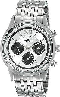 Titan Neo Analog Black Dial Men's Watch - 1766SM03