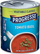 Progresso Vegetable Classics, Tomato Basil Soup, Gluten Free, 6 Cans, 19 oz