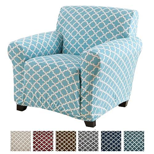 Armless Chair Slipcover Amazon Com