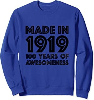 100th Birthday Sweatshirt Women 100 Year Old Grandma Gifts