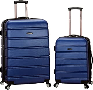 Rockland Luggage 20 Inch 28 Inch 2 Piece Expandable Spinner Set, Blue, One Size