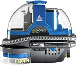 Bissell SpotBot Pet handsfree Spot and Stain Portable Deep Cleaner, Blue, 2117A