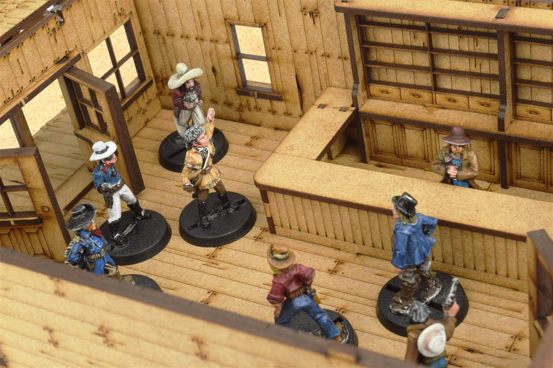 War World Gaming Wild West - Tienda - hasta Escala de 35mm, Wargame, DM, Escenografía, Escaramuzas, Lejano Oeste, Dioramas, Miniaturas, Maquetas, Modelismo, Juego de Mesa: Amazon.es: Juguetes y juegos